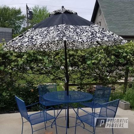 Powder Coating: Patio Furniture,Outdoor Furniture,Patio Set,HARBOR BLUE PSS-0579,Outdoor Patio Furniture