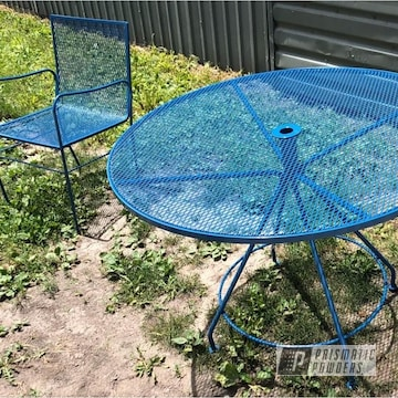 Powder Coated Patio Furniture In Pss-0579
