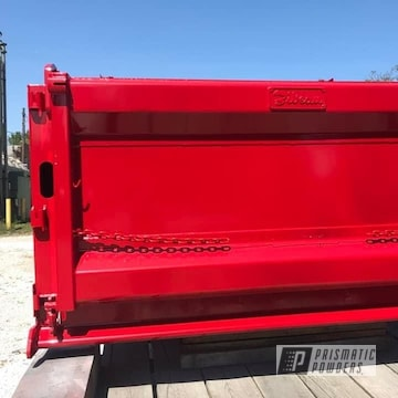 Powder Coated Truck Bed In Pss-0105