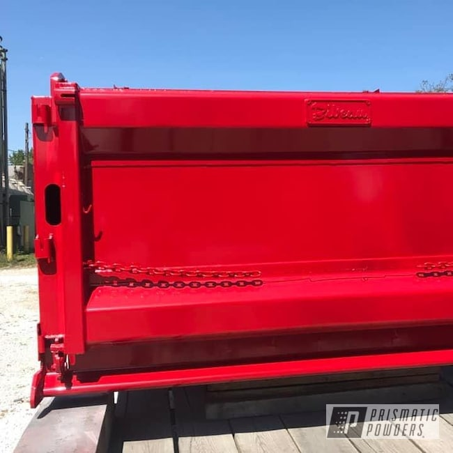 Powder Coating: Automotive,Flag Red PSS-0105,Truck Bed