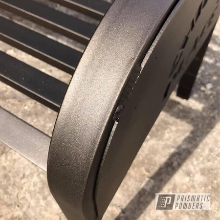 Powder Coating: Bench,Oil Rubbed Bronze PCB-1102,Furniture