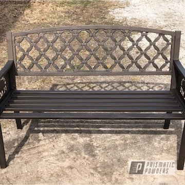 Powder Coated Bench In Pcb-1102