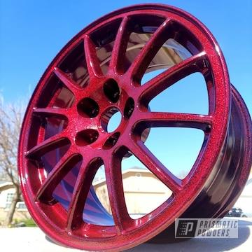 Powder Coated Custom Mitsubishi Wheels