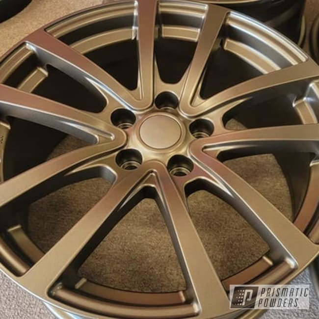 "Powder Coating: Wheels,TRIPLE BRONZE UMB-4548,Rims,Aluminum Rims,18"" Aluminum Rims,Automotive Rims,Aluminum Wheels"