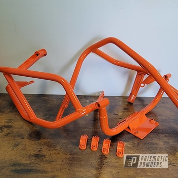 Powder Coated Motorcycle Parts In Pss-4045