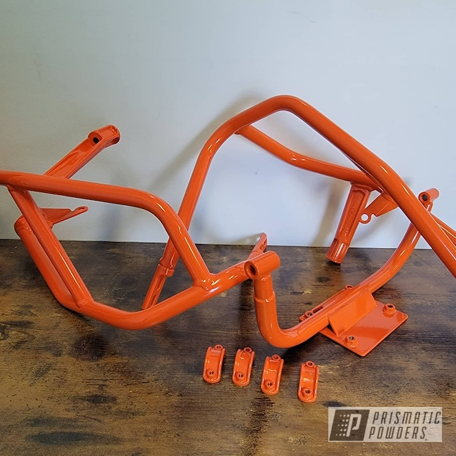 Powder Coating: Powder Coated Supermoto KTM Wheel,KTM,Motorcycle Frame,Powder Coated KTM Frames,Motorcycle Parts,Just Orange PSS-4045,Motorcycles,Dirtbike,Orange,Dirt Bike Frame,Powder Coated Kawasaki KTM Frame,Motorbike,Dirt Bike