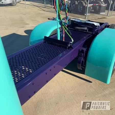 Powder Coating: Truck Parts,Automotive,GALAXY PURPLE PMB-4784
