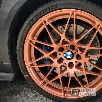 Powder Coated Bmw Wheels In Pmb-4934