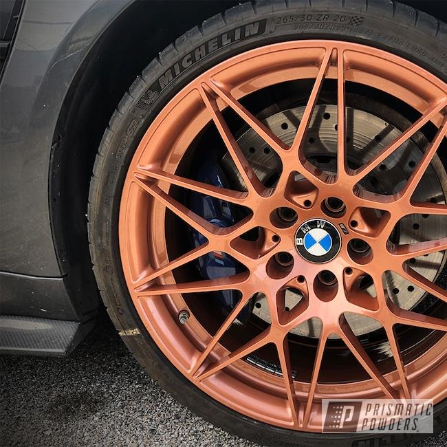 Powder Coating: Wheels,Alloy Wheels,Fireside Copper PMB-4934,Powder Coated BMW M3 Wheels,BMW Wheels,Rims,BMW,BMW Rims