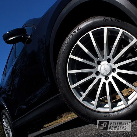 "Powder Coating: Wheels,19"" Wheels,BMW Silver PMB-6525,TSW,Rims,Mazda,CX-5"