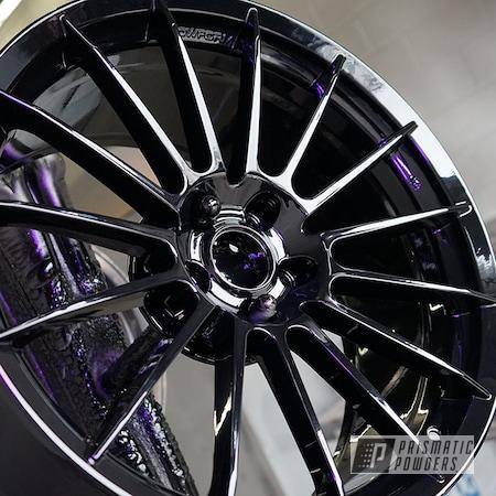 Powder Coating: Wheels,Alloy Wheels,Rims,GLOSS BLACK USS-2603,HRE,HRE Wheels