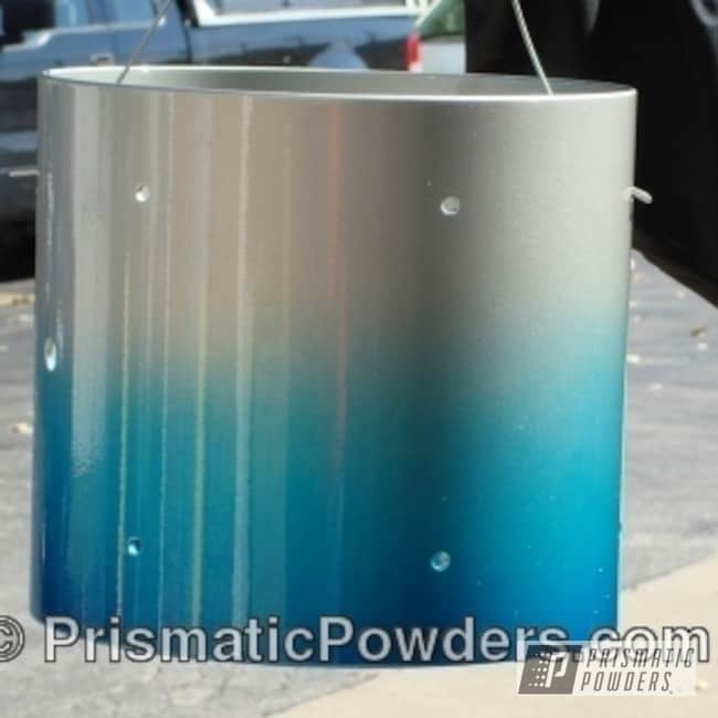 Powder Coating: Silver,blended,Heavy Silver PMS-0517,Crescent Blue/Silver PPB-6025,Blue,powder coated,Blue Odyssey PPB-5770,Trick Drum,Miscellaneous