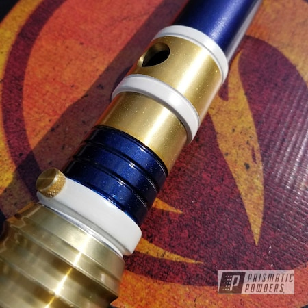 Powder Coating: Aluminum,Pearl Sparkle PMB-4130,Bluebelly PMB-10350,Lightsaber,Wizard Blue PPB-5974