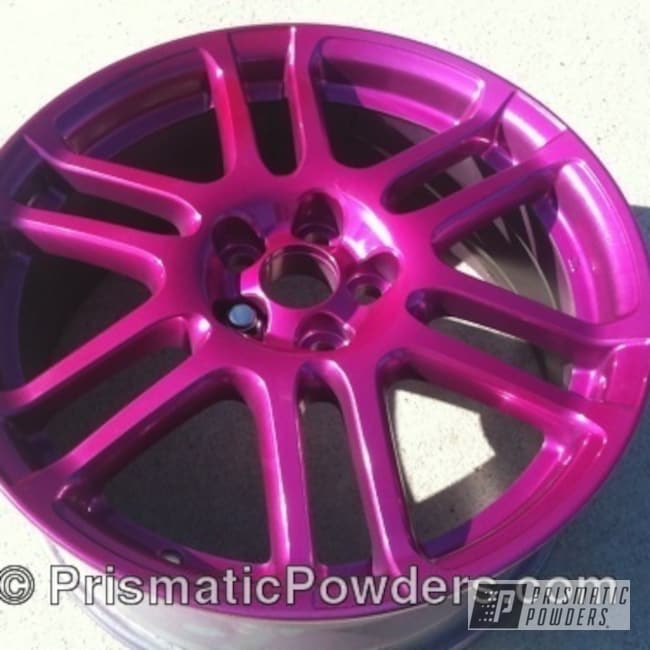 Powder Coating: Wheels,wheel,violet,SUPER CHROME USS-4482,chrome,powder coated,HEAVENLY RASPBERRY UPB-2135