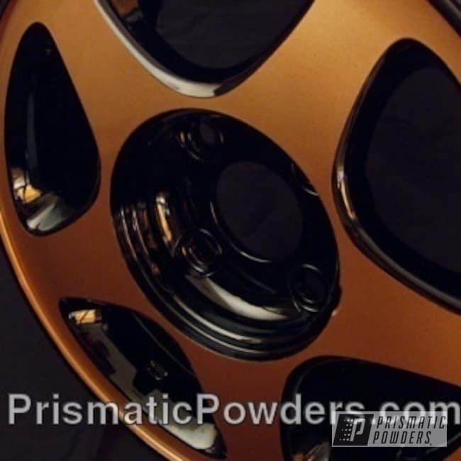 Powder Coating: Wheels,Wheel,Copper Jacket PMB-2562,Black,Prismatic powder,Ink Black PSS-0106,Copper,powder coated