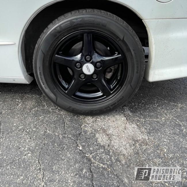 Powder Coating: Wheels,Firebird,Rims,Ink Black PSS-0106,Aluminum,16,Pontiac