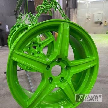 Powder Coated Wheels In Pss-5666