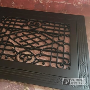 Powder Coated Cast Iron Grate In Uss-1522