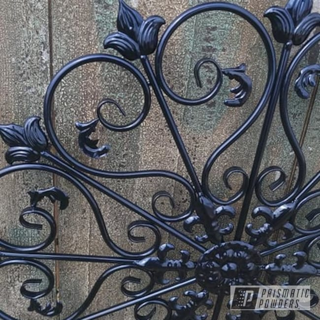 Powder Coating: decorative,Yard Art,Decor,Home Decor,wall art,Outdoor Decor,Diamond Blue PMB-4042