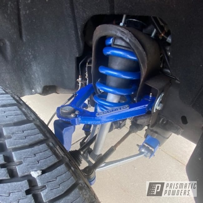 Powder Coating: 4x4,Chevy Truck,Clear Vision PPS-2974,POLISHED ALUMINUM HSS-2345,Illusion Blueberry PMB-6908,Suspension