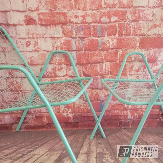Powder Coating: Patio Chairs,Sea Foam Green PSS-4063,Chairs,Patio Furniture,Outdoor Furniture,Lawn Chairs,Outdoor Patio Furniture