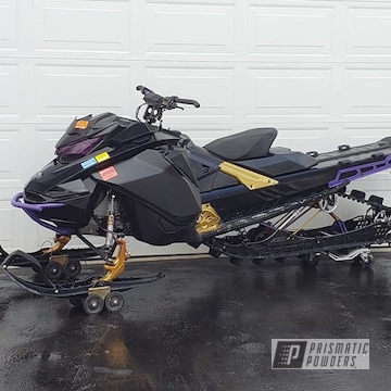 Powder Coated Snowmobile Parts In Ppb-4499 And Psb-5922