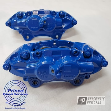 Powder Coated Bmw Calipers In Pss-3042