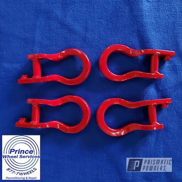 Powder Coated Tow Hooks In Psb-4787