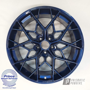 Powder Coated Wheels In Pps-2974 And Pmb-5368