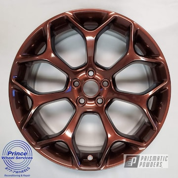 Powder Coated Chrysler Wheels In Pps-2974 And Pmb-6796
