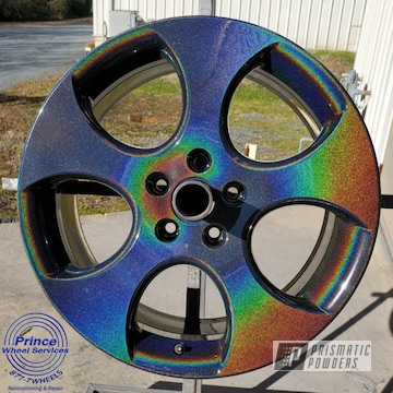 Powder Coated Volkswagen Wheels In Pps-2974 And Pmb-10367