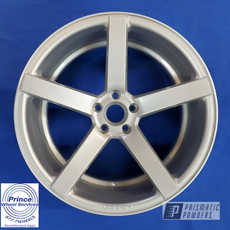 Powder Coating: Wheels,Vossen Wheels,BMW Silver PMB-6525,Forged Wheels,Alloy Wheels,Clear Vision PPS-2974,Vossen,Rims,Aluminum Wheels