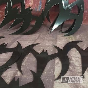 Powder Coated Batarangs In Uss-2603
