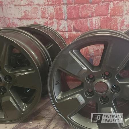 "Powder Coating: Wheels,19"" Wheels,Clear Vision PPS-2974,Rims,Aluminum Rims,Kingsport Grey PMB-5027,19"" Aluminum Rims,Automotive Wheels,Aluminum Wheels"