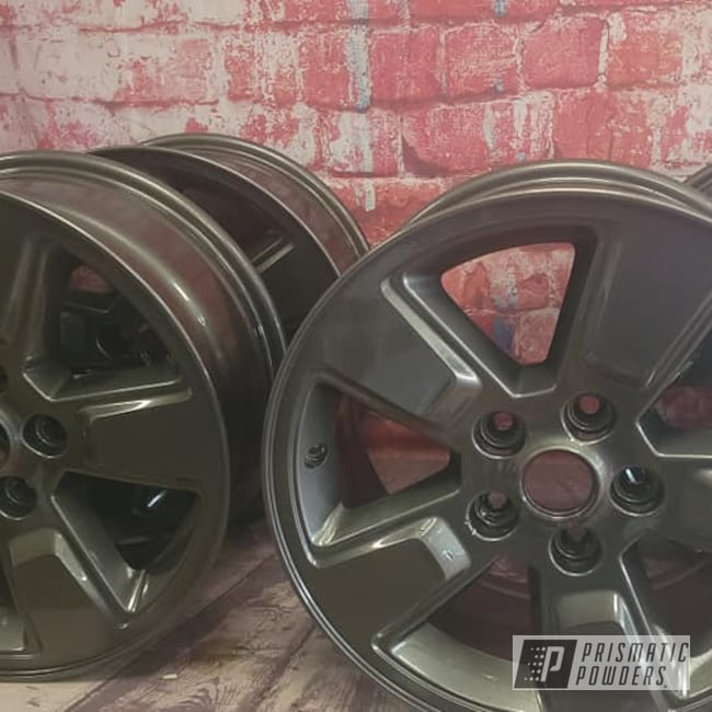 "Powder Coating: Wheels,19"" Wheels,Clear Vision PPS-2974,Rims,Aluminum Rims,Kingsport Grey PMB-5027,19"" Aluminum Rims,Automotive Wheels,Aluminum Wheels"