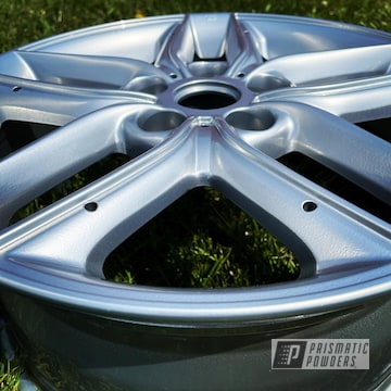 Powder Coated Wheels In Pps-2974 And Hss-2345