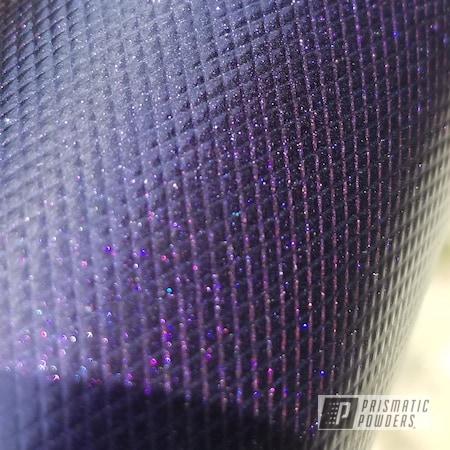 Powder Coating: Matte Black PSS-4455,Two Stage Application,Aluminum,Purplescent DBL PPB-5115,Lightsaber