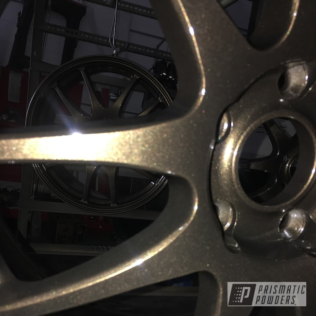 "Powder Coating: Wheels,Clear Vision PPS-2974,TRIPLE BRONZE UMB-4548,Rims,18"" Aluminum Rims"