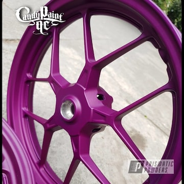 Powder Coated Rims In Psb-4629 And Pps-4005