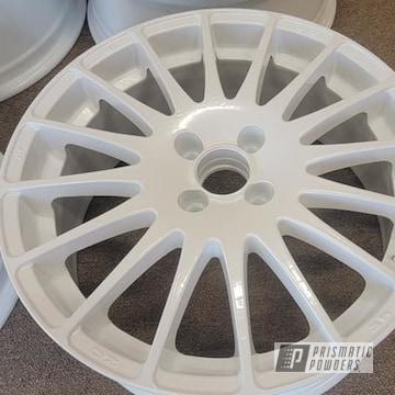 Powder Coated Wheels In Pmb-4130