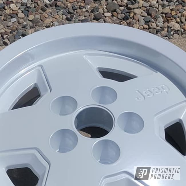 "Powder Coating: Wheels,Jeep Parts,Rims,Aluminum Rims,15"" Aluminum Rims,Jeep Rims,Pearl Sparkle PMB-4130,Aluminum Wheels"