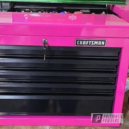 Powder Coating: Passion Pink PSS-4679,tool box,Storage,Pink,Craftsman Tool Box