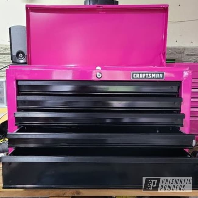 Powder Coating: Passion Pink PSS-4679,tool box,Storage,Pink,Craftsman Tool Box