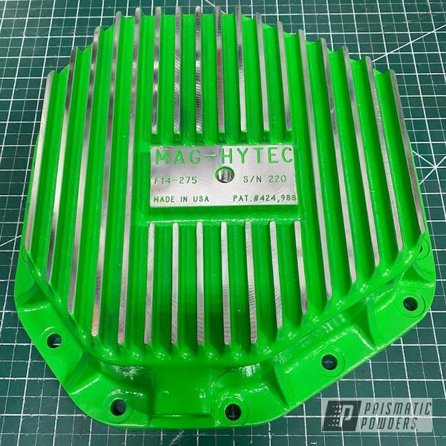 Powder Coating: Automotive,Differential Cover,Racer Green PSS-4531