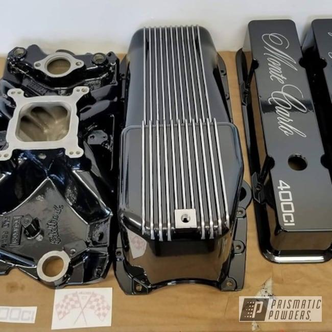 Powder Coating: Automotive,Ink Black PSS-0106,Automotive Parts