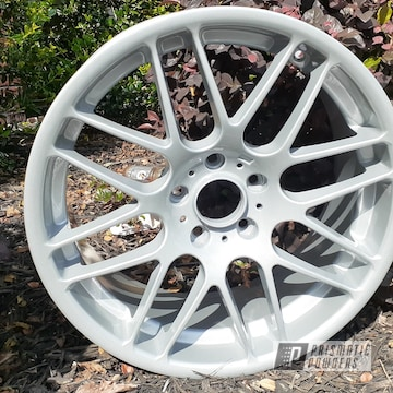 Powder Coated Wheels In Pms-0439 And Pps-2974