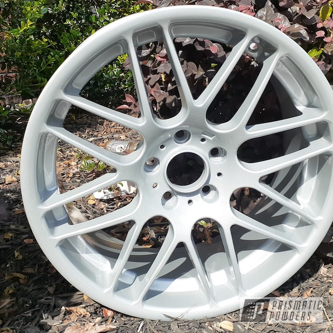 Powder Coating: Wheels,Porsche Silver PMS-0439,Clear Vision PPS-2974,Rims