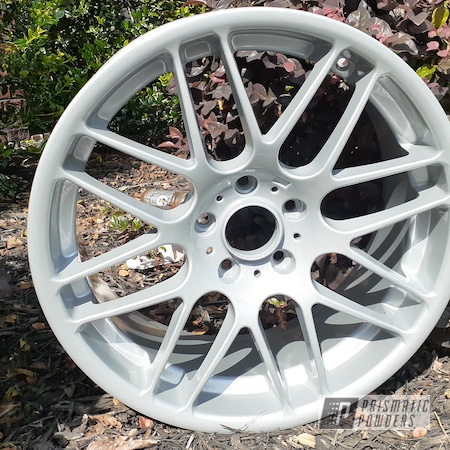 Powder Coating: Wheels,Porsche Silver PMS-0439,Clear Vision PPS-2974,Rims