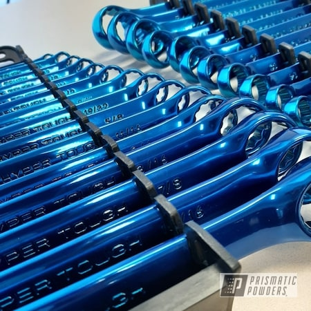 Powder Coating: Transparent Blue PPS-5140,Tools,Wrench,Wrenches