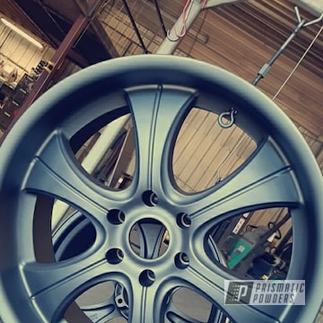 Powder Coated Wheels In Umb-6578 And Pps-4005